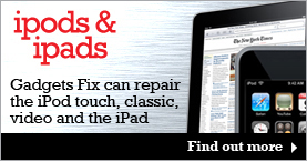 iPods and iPad Repairs