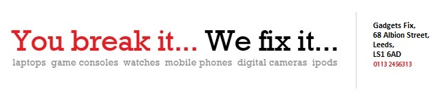 We repair iPhones, iPods, TomToms, Laptops, Watches and more!