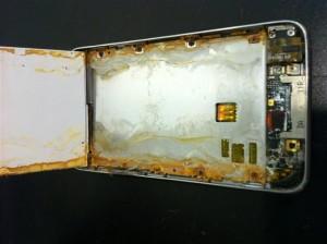 liquid damage