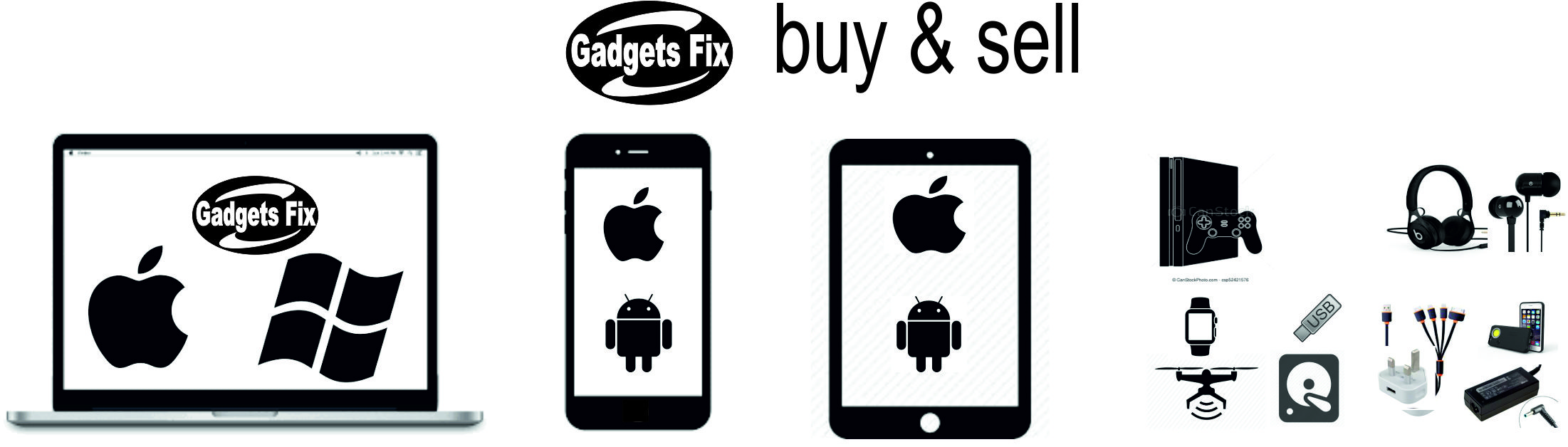 gadgets fix buy & sell laptop, macbooks, iphones, smart phones,tablets,consoles