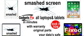 Screen repairs for macbooks, Laptops & tablets at Gadgets fix