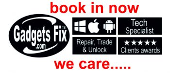 gadgets fix & repair Iphones smart phones, Laptops, macbooks, tablets, iPads, consoles in Leeds