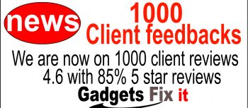 gadgets fix hot news 1000 client reviews with 85% five stars