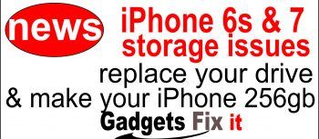 gadgets fix hot news We increase iphone 6s & 7 storage to 256gb