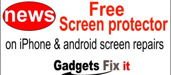 gadgets fix hot news. We offer a free phone screen protector on display repairs