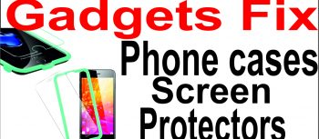 phone cases and phone screen protectors at gadgets fix