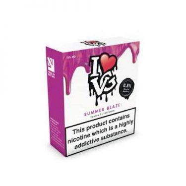 Summer Blaze TPD Compliant 3x10ml 3mg I Love VG