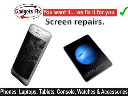 iPhone, smart phone & tablet screen repairs.