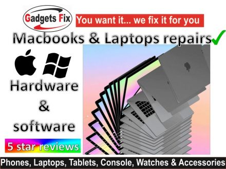 gadgetsfix macbook & Laptop repairs Leeds