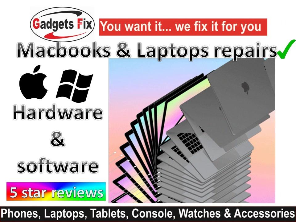 gadgetsfix macbook & Laptop repairs Leeds