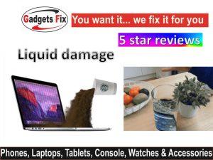 Liquid damage iPhone, smart phones. macbooks. laptops, & tablets Leeds