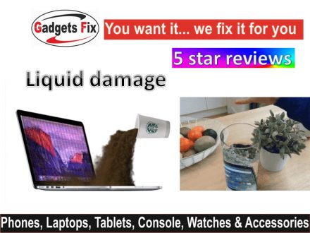 Liquid damage iPhone, smart phones. macbooks. laptops, & tablets Leeds