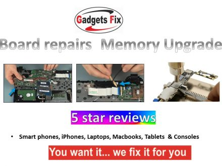Board repairs & memory upgrades Leeds iPhone, smart phones. macbooks. laptops, & tablets Leeds