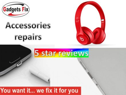 Accessory repairs to headphones, ipods, earphones , speakers and cameras in leeds