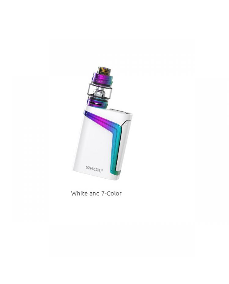 V Fin Kit White and Rainbow