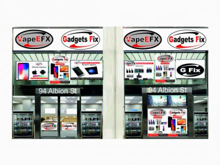 gadgets fix store 94 Albion St, Leeds LS1 6AD shop front