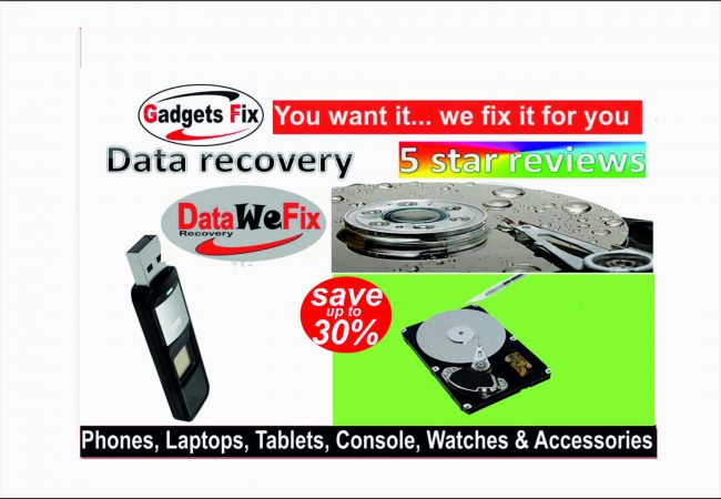 data recovery & data back up