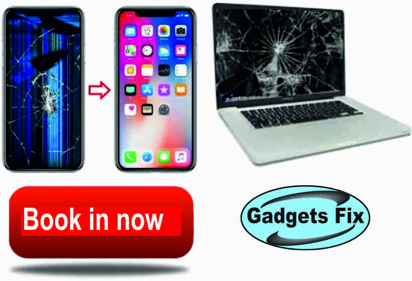 smashed screens on tablets phones macbook, laptops & and smart phones gadgets fix