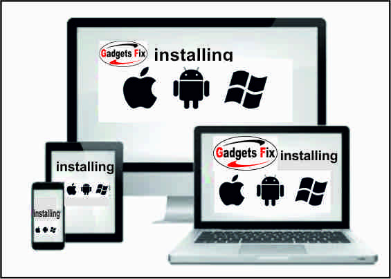 Gadgets fix software specialist for installations, repairs, firmware and cloning
