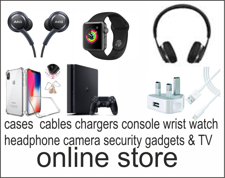 Headphones, earphones, consoles, plugs, security gadgets chargers phone case and protective glass online store at gadgets fix