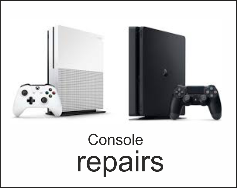 console reapairs PS4 xBox one nintedo switch repairs hdmi power issues screen connectivity disc drive software