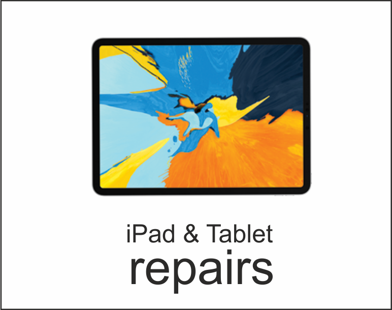 ipad & android tablet surface pro gadgets fix smashed screen, liquid damage power issues, board issues, data recovery & back up, housing software & unlocking