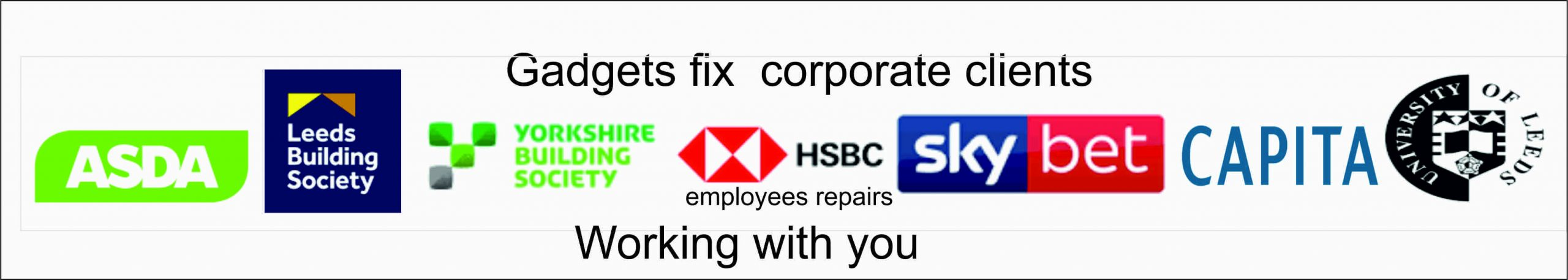 gadgets fix corporate clients