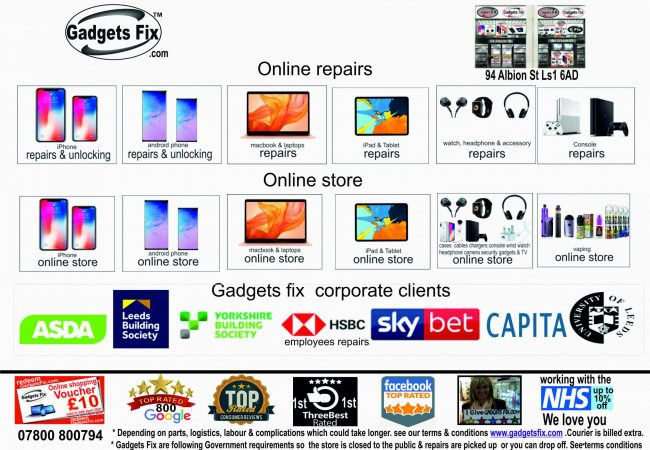 gadgets fix repair, Trade, iPhones, smart phones, laptops, macbooks, iPads, tablets, & consoles 5