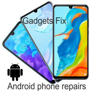 Android phone repairs at gadgets fix Samsung Huawei Sony LG one + HTC