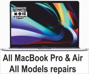 Macbook pro airs and retiner all models repaired at gadgets fix
