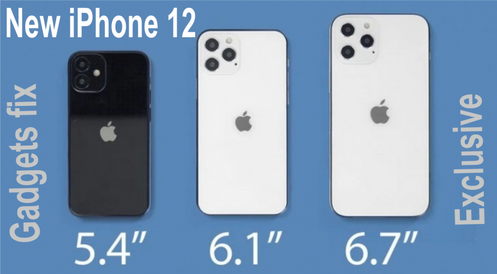 iphone 12 4 different sizes at gadgets fix