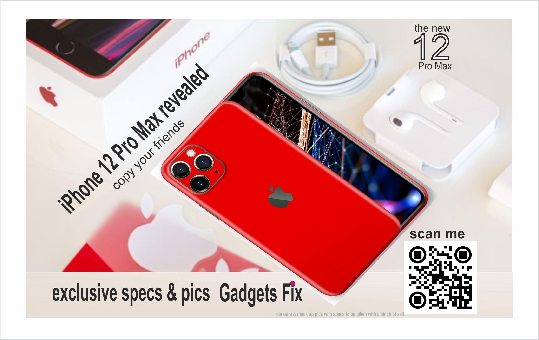 the new iphone 12 pro max at gadgets fix