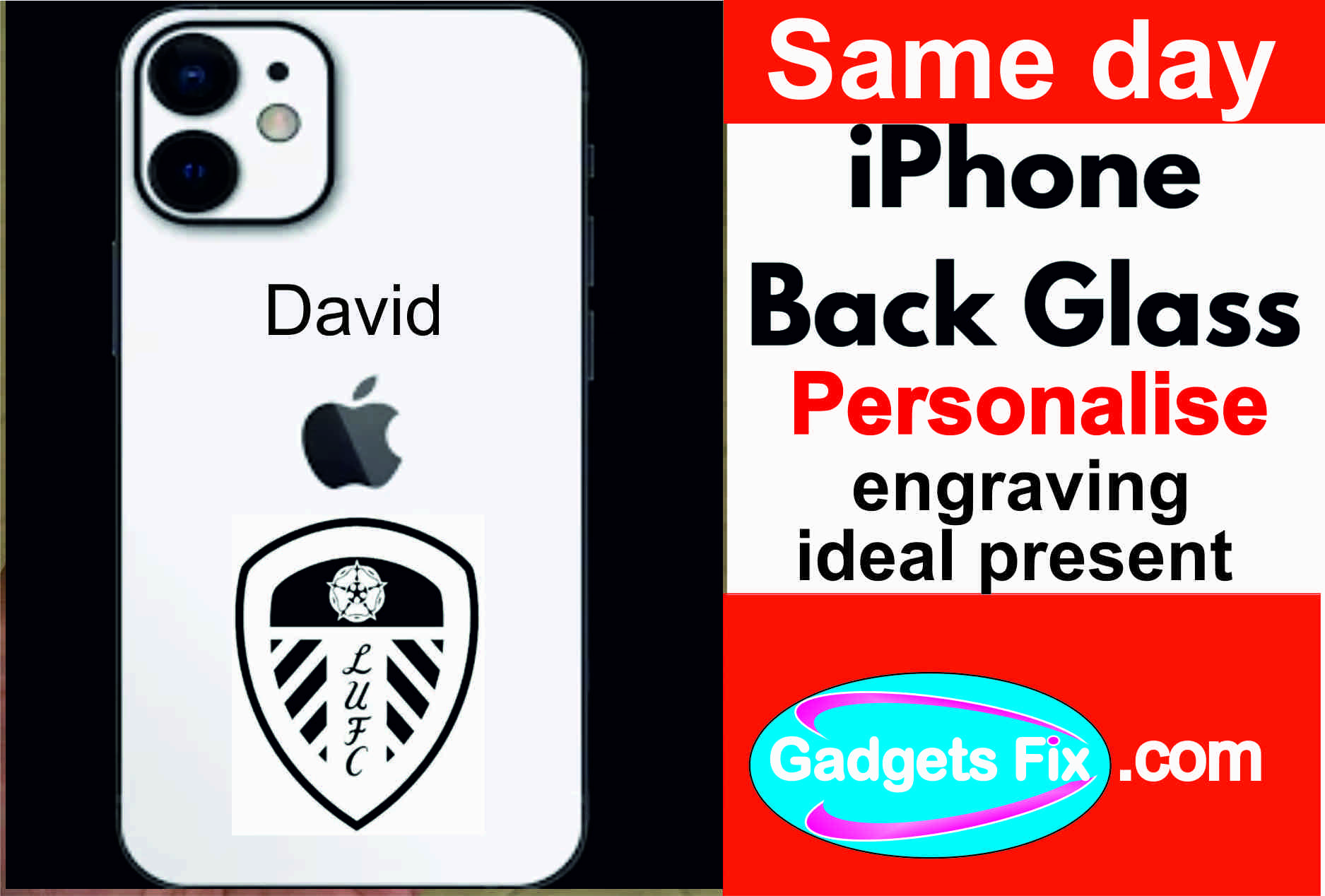 engrave your iphone-& smart phone glass-backs-at gadgets fix