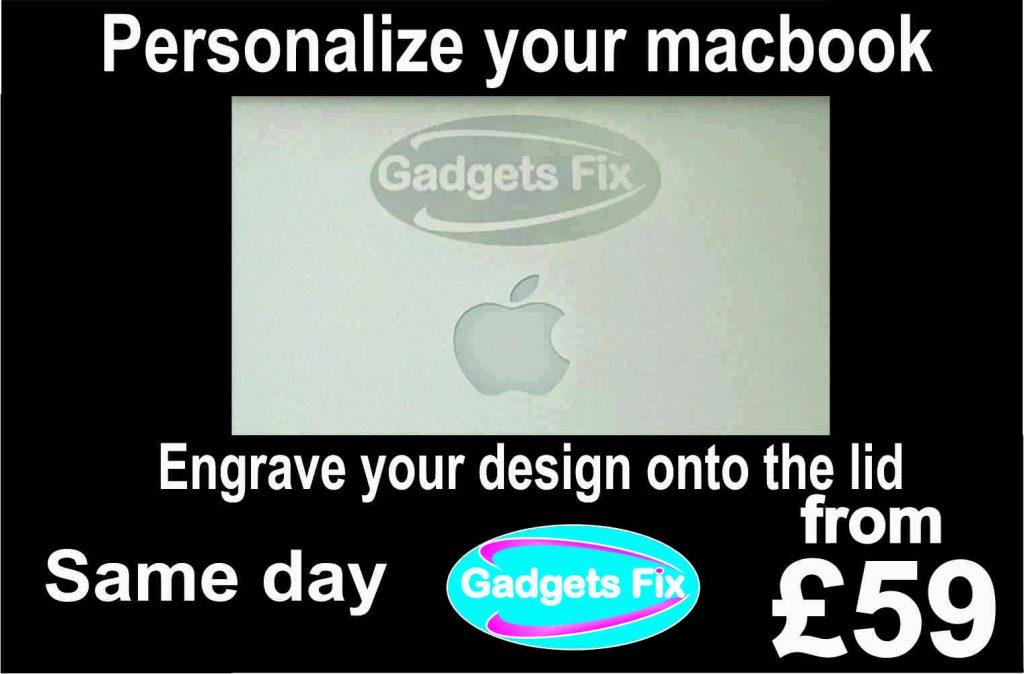 gadgets fix Engraving macbook laptop & tablet at gadgets fix
