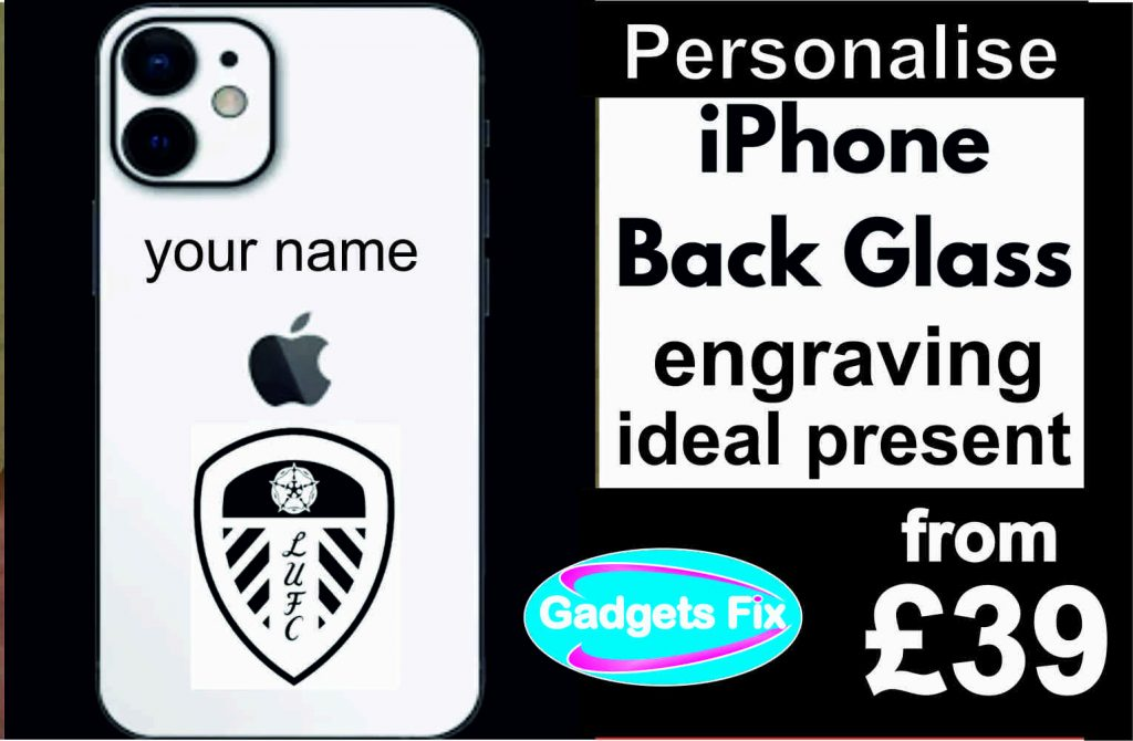 Gadgets fix iPhone engraving back 6 7 8 10 xs xsmax 11 11 pro promax xr android samsung huawei phones on sale