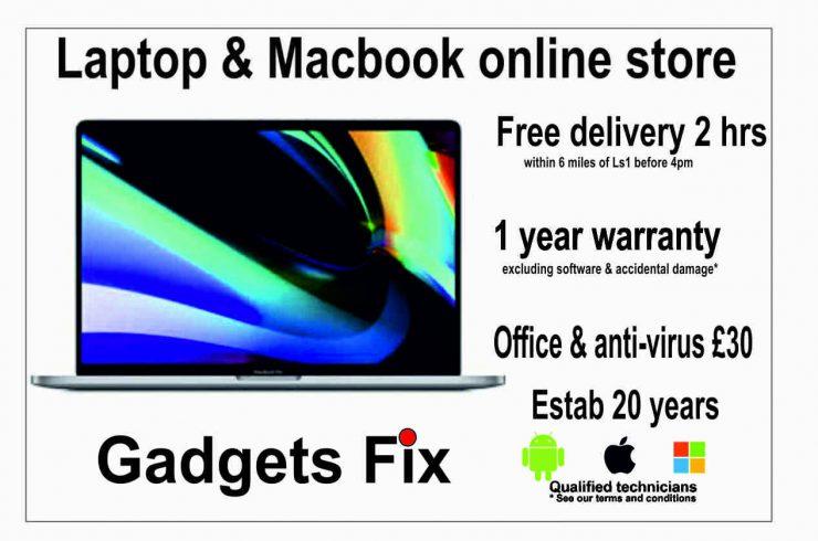 Macbook & laptops for sale at gadgets fix