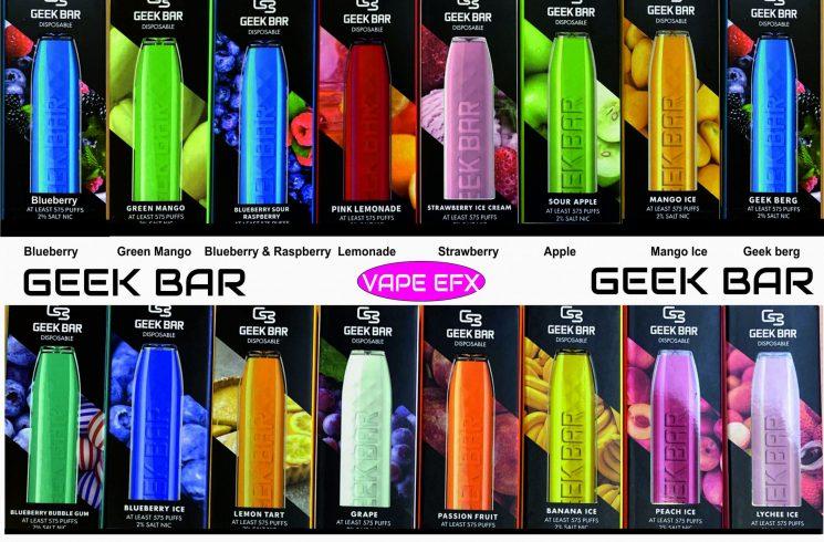 geek bars gadgets fix vape efx