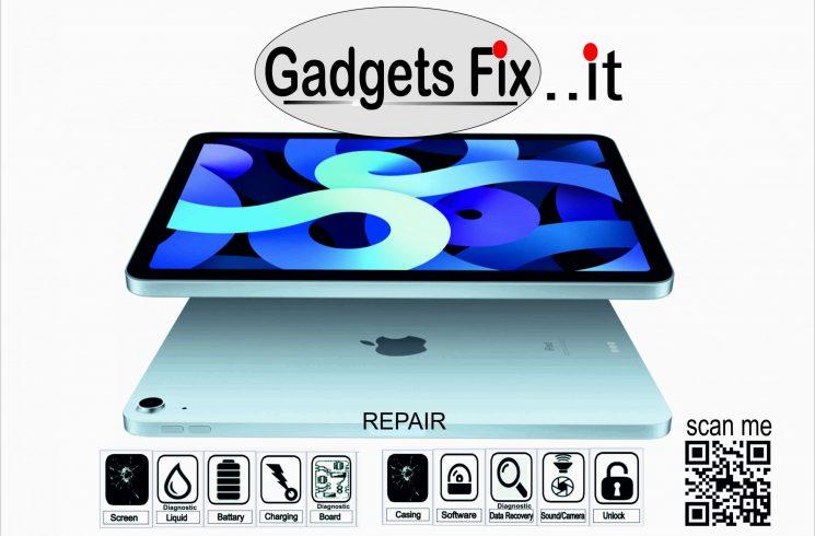ipad & tablet repairs at gadgetsfix